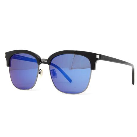 Yves Saint Laurent // Men's SL108K Sunglasses // Black