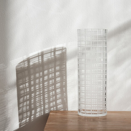 Cut In Number // Vase (Tall)