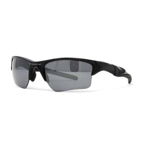 Oakley // Men's Half Jacket OO9154 Polarized Sunglasses // Polished Black
