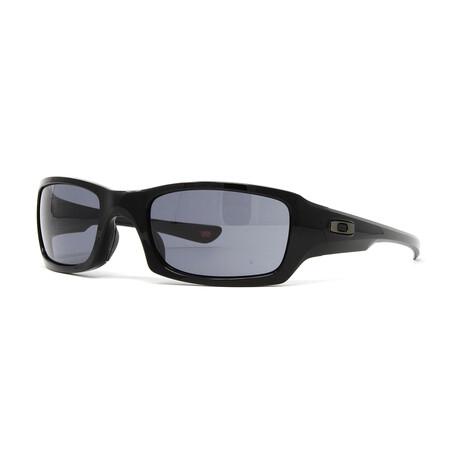 Oakley // Men's Fives Squared OO9238 Sunglasses // Gray Smoke