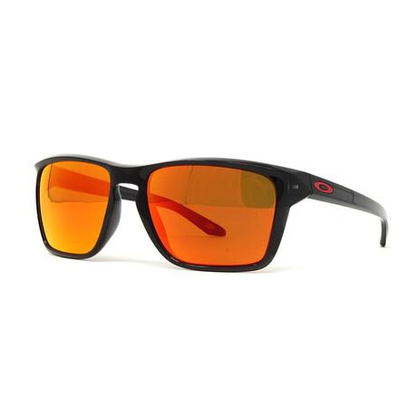 Oakley // Men's Sylas OO9448 Polarized Sunglasses // Matte Black