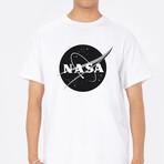 NASA Logo T-Shirt // White (Small)