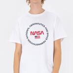 NASA Circle Definition T-Shirt // White (Small)