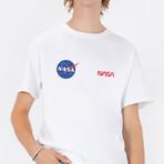 NASA Duo T-Shirt // White (Small)