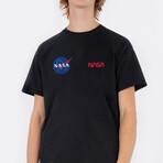 NASA Duo T-Shirt // Black (Small)