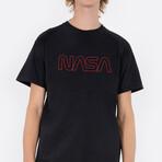 NASA Worm T-Shirt // Black (Small)