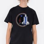 Rocket Galaxy T-Shirt // Black (Small)