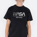 NASA Moon Landing Tee // Black (Small)