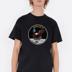 Apollo 11 Eagle T-Shirt // Black (Small)