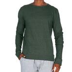 Super Soft Crew Sweatshirt // Heather Dark Green (M)
