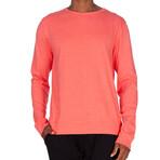 Super Soft Crew Sweatshirt // Heather Coral (XL)