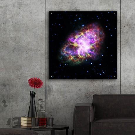 "Crab Nebula Multi-Wavelengths (12""H x 12""W x 0.13""D)"