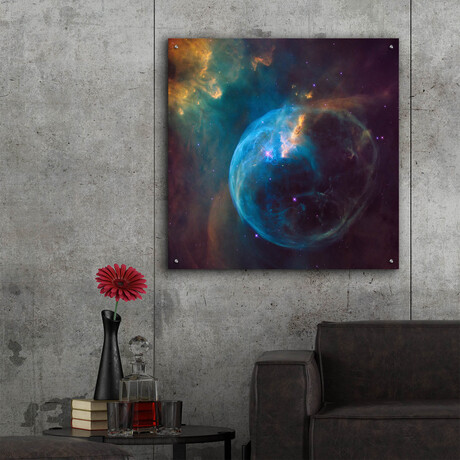 "Bubble Nebula (12""H x 12""W x 0.13""D)"
