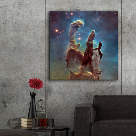 "Eagle Nebula (12""H x 12""W x 0.13""D)"