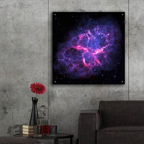 "Crab Nebula (12""H x 12""W x 0.13""D)"