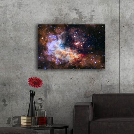 """Celestial Fireworks (16""""H x 12""""W x 0.13""""D)"""
