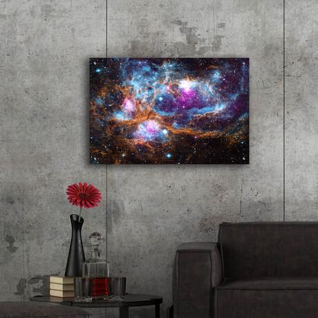 "Cosmic Winert Wonderland (12""H x 16""W x 0.13""D)"