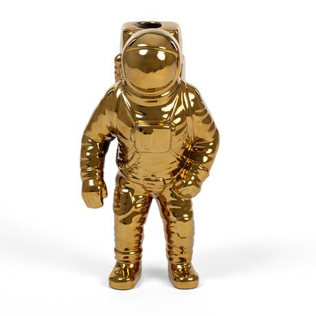 Starman Vase // Diesel Cosmic Collection // Gold