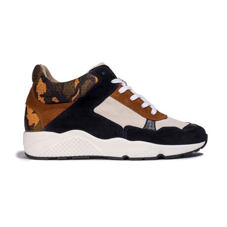 Henri Homme AH20 Sneaker //ArmyCamel (Men's EU Size 41)