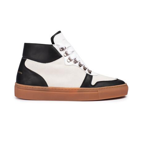 Leon Bis Homme Sneaker // White (Men's EU Size 42)