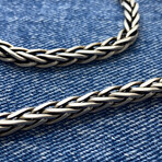 Mega Wheat Chain Bracelet