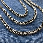 "Mega Wheat Chain Necklace (18"" // 39.3g)"