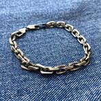 Rectangle Cable Chain Bracelet