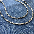 """Boston Link Chain Necklace (18"""" // 21g)"""