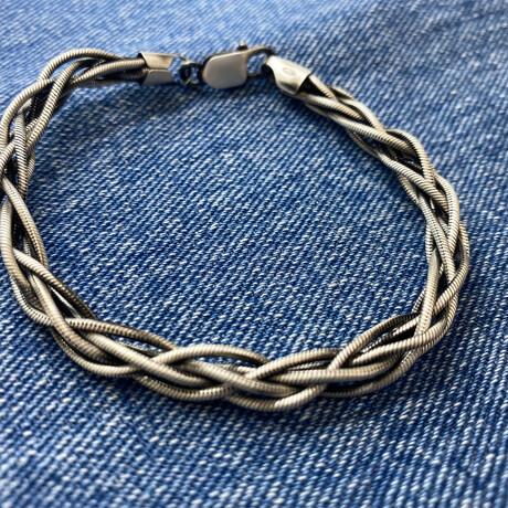 Mega Twisted Chain Bracelet