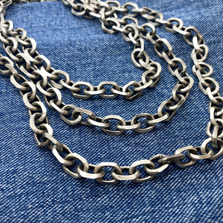 """Cable Chain Necklace (18"""" // 64g)"""