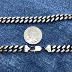 """Detailed Mega Curb Chain Necklace (18"""" // 71g)"""