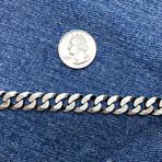 Double Sides Desgin Curb Chain Bracelet