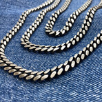 """Detailed Curb Chain Necklace (18"""" // 52.3g)"""