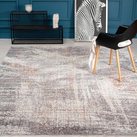 "Sonoma Granite Grays // Abstract (9'6""x 13')"