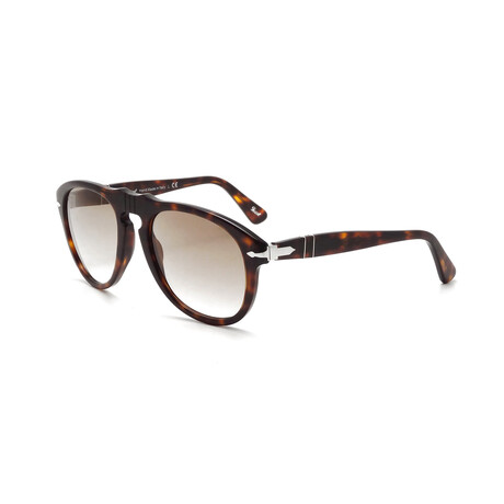 Men's Original 649 Sunglasses // Havana + Crystal + Brown Gradient