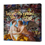 """Love Is Needed (12""""H x 12""""W x 0.75""""D)"""