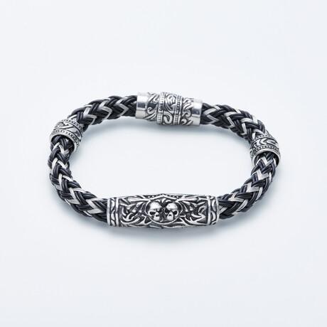 Dell Arte // Zigzag Bracelet // Silver