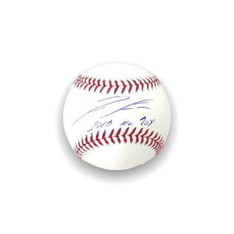 Ronald Acuna Jr. // Atlanta Braves // Signed Baseball + Inscription