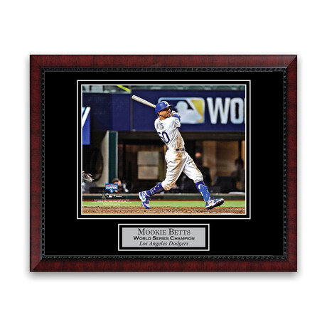 Mookie Betts // Los Angeles Dodgers // Unsigned + Framed Photograph
