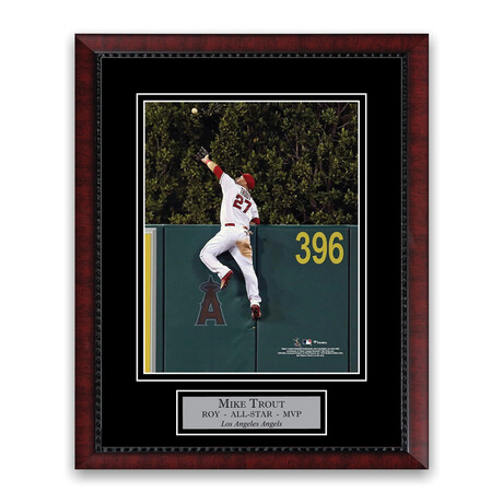 Mike Trout // Los Angeles Angels // Unsigned + Framed Photograph
