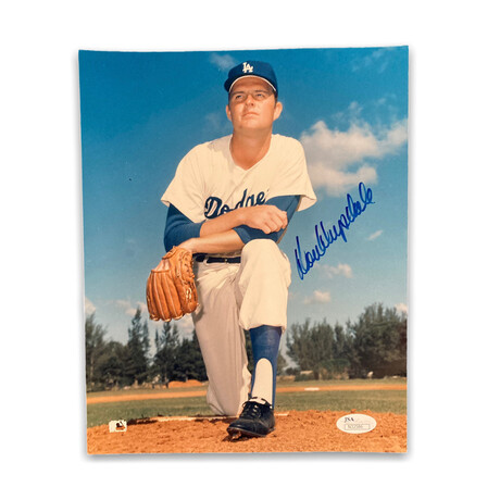 Don Drysadale // Los Angeles Dodgers // Signed Photograph
