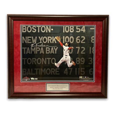 Andrew Benintendi // Boston Red Sox // Signed + Framed Photograph