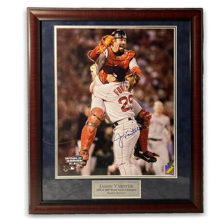 Jason Varitek // Boston Red Sox // Signed + Framed Photograph