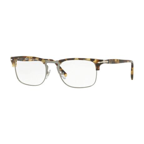 Men's Clubmaster Optical Frames // Brown + Beige + Tortoise