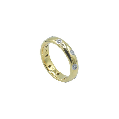 Tiffany & Co. // 18k Yellow Gold Diamond Etoile Ring // Ring Size: 4.5 // Pre-Owned