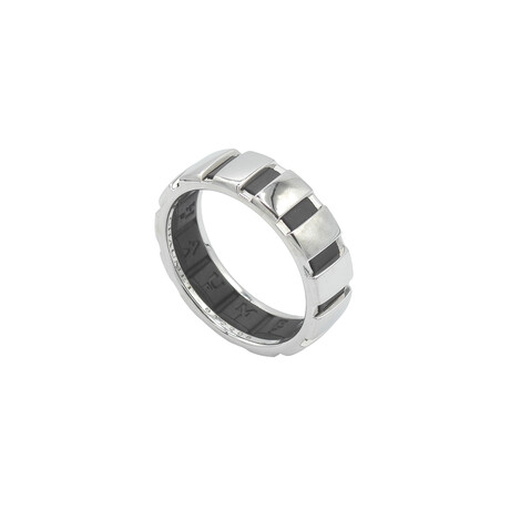 Chaumet // 18k White Gold + Rubber Class One Ring // Ring Size: 8.75 // Pre-Owned