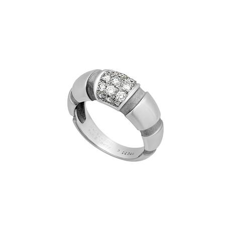 Mauboussin // 18k White Gold Nadja Diamond Ring // Ring Size: 6 // Pre-Owned