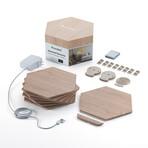 Nanoleaf Elements Wood Look Smarter Kit // 7 Panels