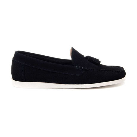 Portugal Moccasin // Navy (Euro Size 39)