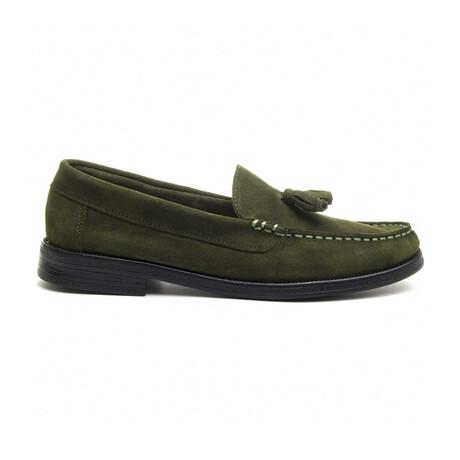 Artisanal Moccasin // Green (Euro Size 39)